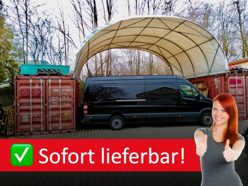 Silo типа Fahrsilo | Container Überdachung 6 x 6 | 8 x 6 | 10 x 12 m | Inkl. Statik, Neumaschine в Hamburg (Фотография 1)