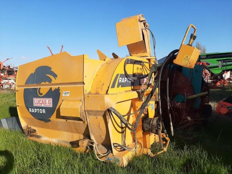 Siloentnahmegerät & Verteilgerät des Typs Lucas RAPTOR, Gebrauchtmaschine in SAINT LOUP (Bild 1)