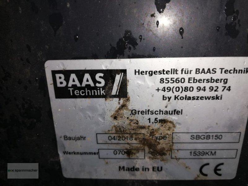 Siloentnahmegerät & Verteilgerät des Typs Sonstige Baas Silagegreifer, Gebrauchtmaschine in Auerbach (Bild 9)