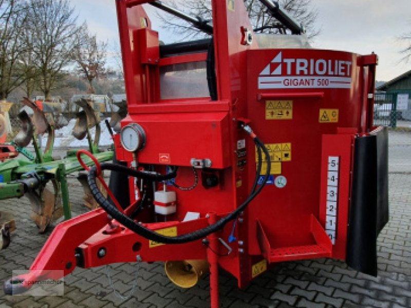 Siloentnahmegerät & Verteilgerät des Typs Trioliet Gigant 500, Gebrauchtmaschine in Auerbach (Bild 1)