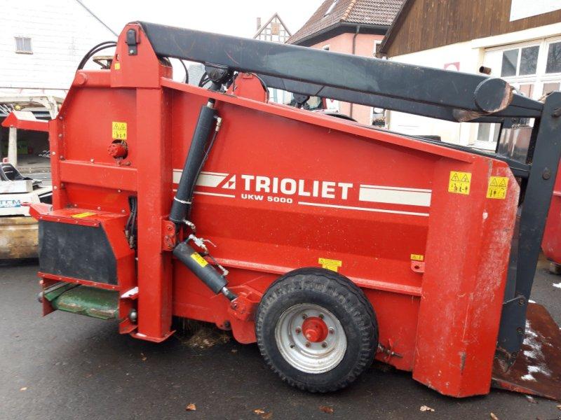 Siloentnahmegerät & Verteilgerät des Typs Trioliet UKW 5000, Gebrauchtmaschine in Thiersheim (Bild 1)