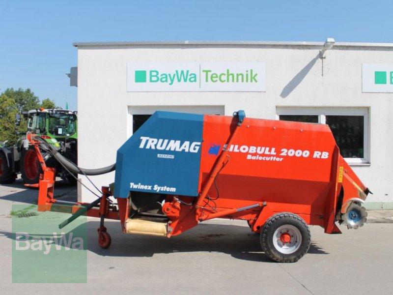 Siloentnahmegerät & Verteilgerät des Typs Trumag Silobull 2000 RB Balecutter, Gebrauchtmaschine in Straubing (Bild 1)