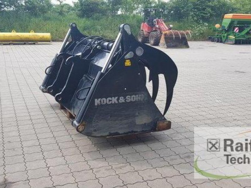 Silokamm des Typs Kock & Sohn Greifschaufel XL, Vorführmaschine in Wanderup (Bild 4)