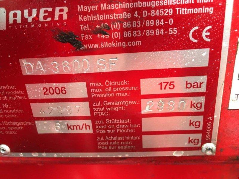 Silokamm του τύπου Mayer DA 3600 SF, Gebrauchtmaschine σε Pemfling (Φωτογραφία 8)