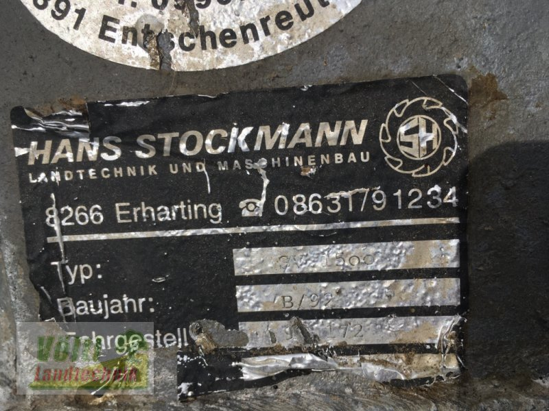 Siloverteiler typu Stockmann SV1500, Gebrauchtmaschine w Röhrnbach-Kumreut (Zdjęcie 2)