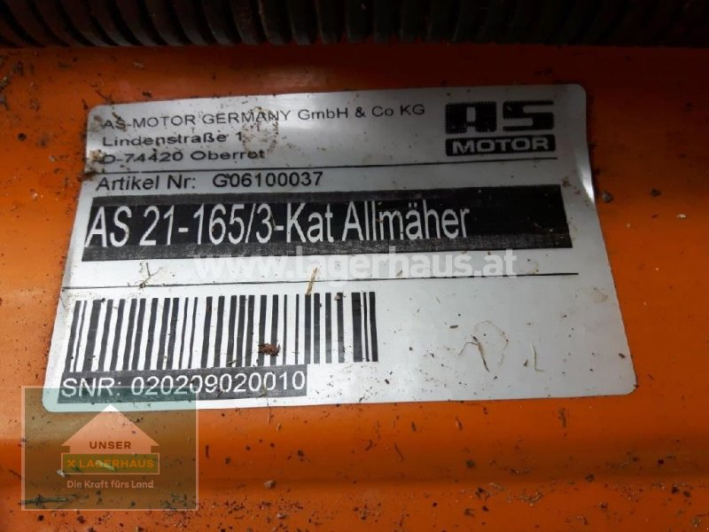 Sitzrasenmäher типа AS Baugeräte HOCHGRASMÄHER, Gebrauchtmaschine в Lambach (Фотография 3)