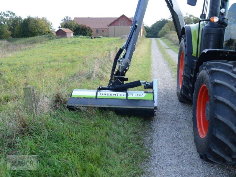 Sitzrasenmäher des Typs Greentec Schlegelmulchkopf FR 162, Neumaschine in Burgkirchen (Bild 1)