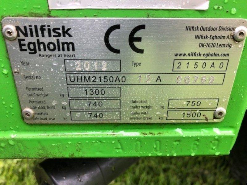 Sitzrasenmäher типа Sonstige Egholm 2150 inkl 120 cm klipper, Gebrauchtmaschine в Vejle (Фотография 6)