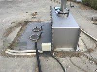 Paulmichl Gasdichte Deckendurchführung für Tauchmotorrührwerk (3) gebraucht Sonstige Biogastechnik