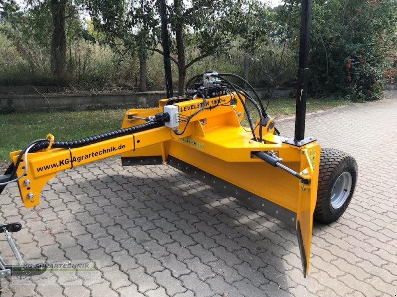 Sonstige Bodenbearbeitungsgeräte типа KG-AGRAR LEVELSTAR 1800-4 Planierschild, Neumaschine в Langensendelbach (Фотография 1)