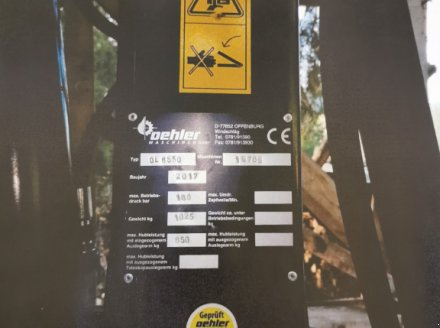 Sonstige Forsttechnik des Typs Oehler OL 6550, Gebrauchtmaschine in St.Georgen (Bild 2)