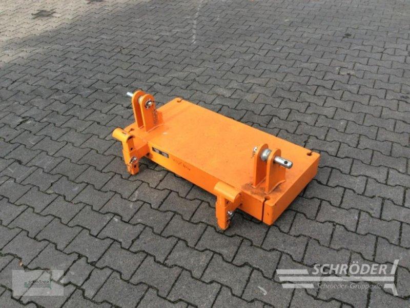 Sonstige Gartentechnik & Kommunaltechnik typu Dücker Gegengewicht 650 kg, Gebrauchtmaschine w Wildeshausen (Zdjęcie 1)
