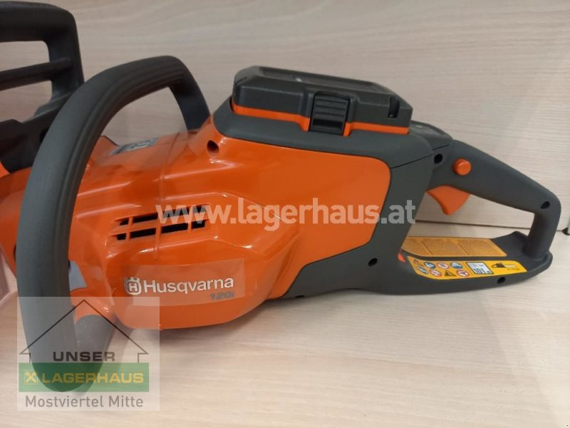 Sonstige Gartentechnik & Kommunaltechnik типа Husqvarna AKKU MOTORSÄGE 120I SET BLI20, QC80, Vorführmaschine в Bergland (Фотография 1)
