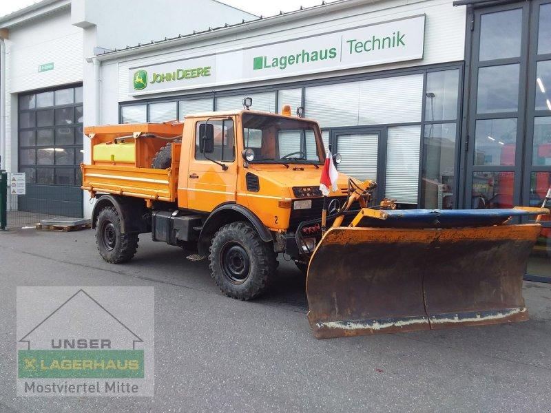 Sonstige Gartentechnik & Kommunaltechnik типа Mercedes-Benz L Unimog U1250L, Gebrauchtmaschine в Bergland (Фотография 1)