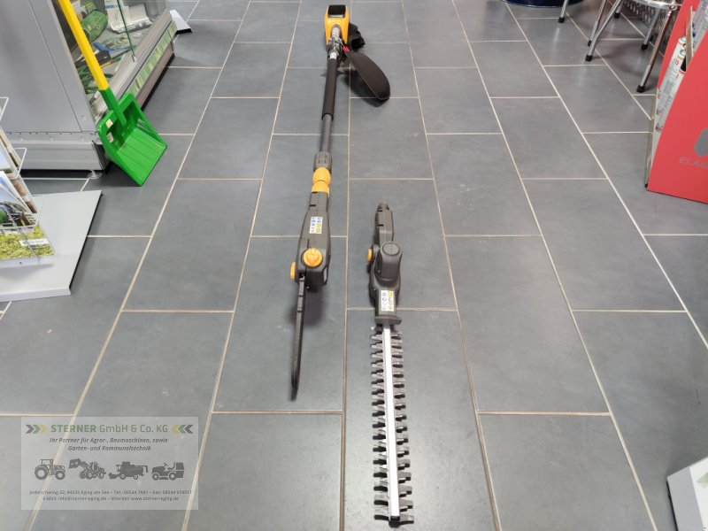 Sonstige Gartentechnik & Kommunaltechnik des Typs Stiga SMT 500 AE Akku-Hochentaster/Heckenschere inkl. Akku und Ladegerät, Neumaschine in Eging am See (Bild 1)