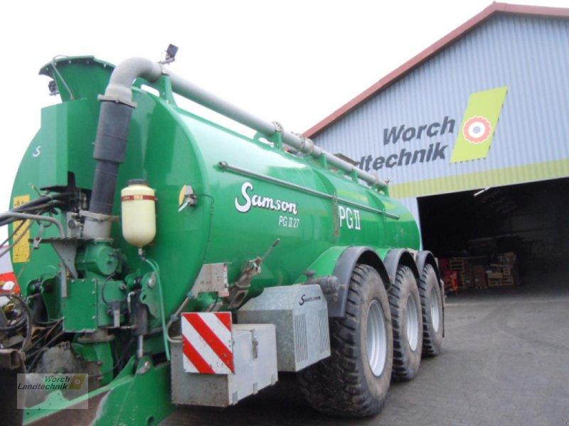 Sonstige Gülletechnik & Dungtechnik типа Samson PG II 27, Gebrauchtmaschine в Schora (Фотография 1)