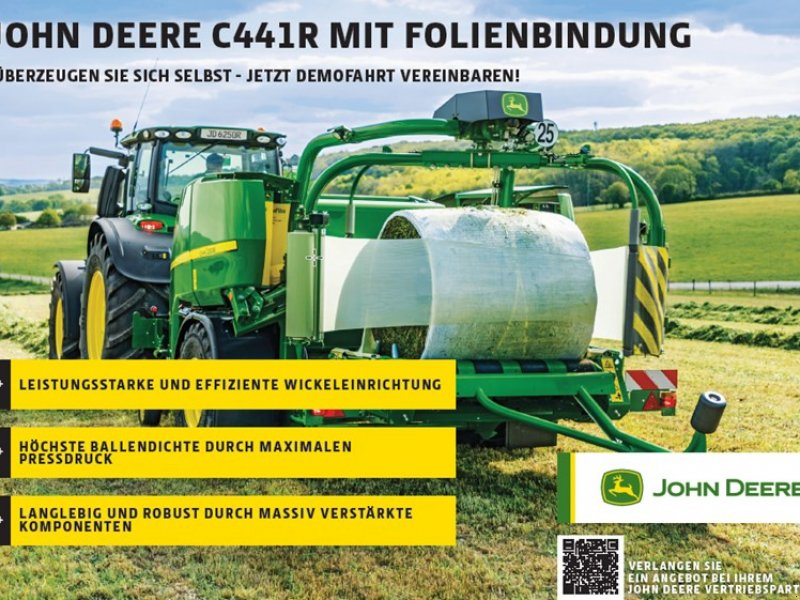 Sonstige Pressen типа John Deere C441R, Neumaschine в Regensdorf (Фотография 1)