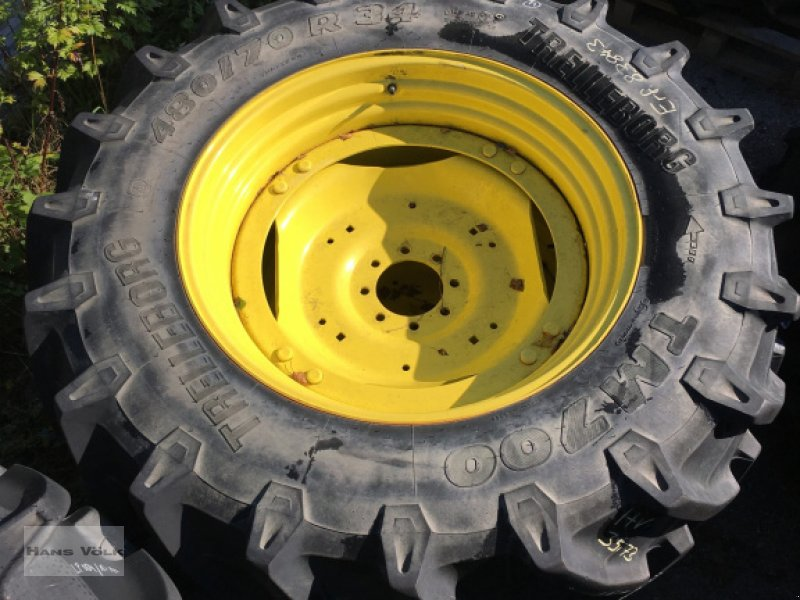 Sonstige Räder & Reifen & Felgen des Typs Trelleborg Kompletträder 480/70R34, Gebrauchtmaschine in Eggenfelden (Bild 1)