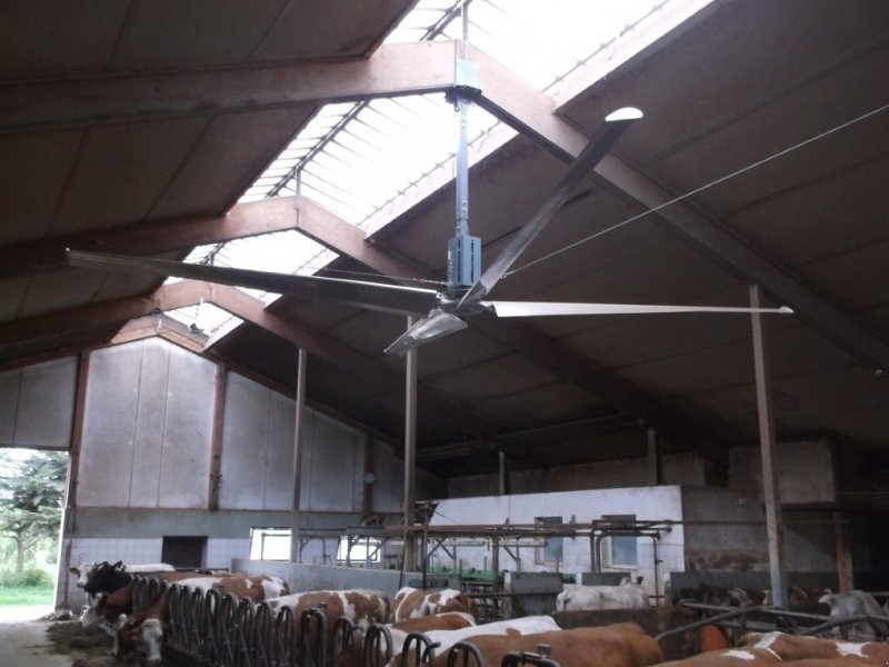 Kép Huesker Ventilator, Ventitec, Deckenlüfter, Stalllüfter, Hallenlüfter, Lüfter