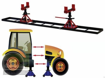 Sonstige Traktoren des Typs P.Lindberg GmbH Trennvorrichtung f.Traktor Traglast Max.5 Tonnen jeStuetzbock-Schienenlaenge-3m, Neumaschine in Großenwiehe (Bild 4)