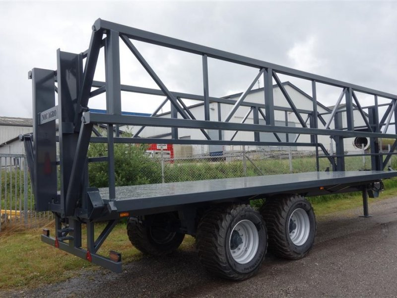 Sonstige Transporttechnik типа Agro Halmvogn med hydraulisk ballesikring, Gebrauchtmaschine в Kjellerup (Фотография 1)
