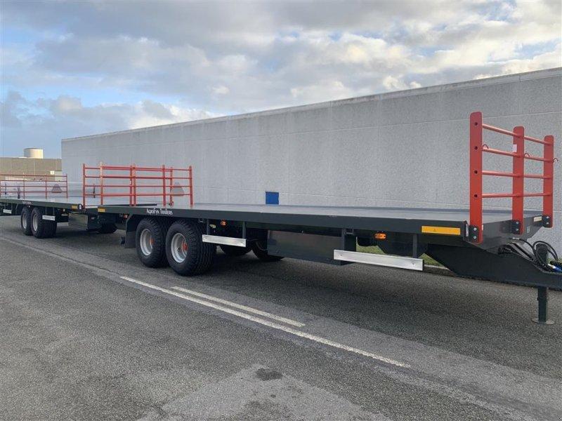 Sonstige Transporttechnik a típus AS Trailers 7.50 meter ballevogne Kærretræk - 2 x 7,50 meter ballevogne, Gebrauchtmaschine ekkor: Ringe (Kép 1)