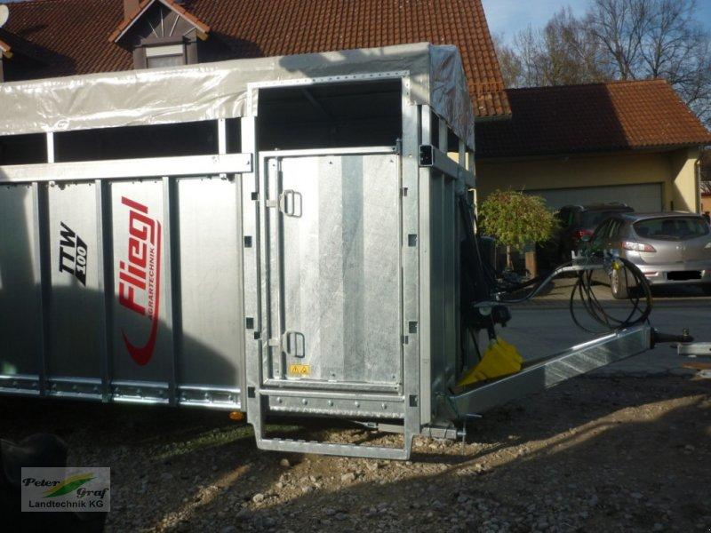 Sonstige Transporttechnik des Typs Fliegl TTW 100 Einachs Tiertransportanhänger, Neumaschine in 91257 Pegnitz-Bronn (Bild 6)