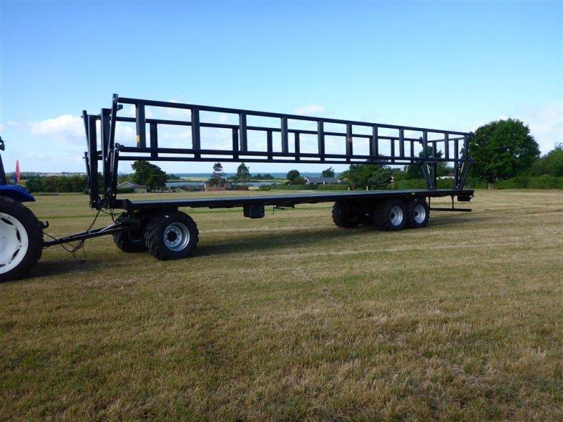 Sonstige Transporttechnik типа Palms PT 31250 12.5 m vogn med hydraulikse balleholder, Gebrauchtmaschine в Slagelse (Фотография 1)
