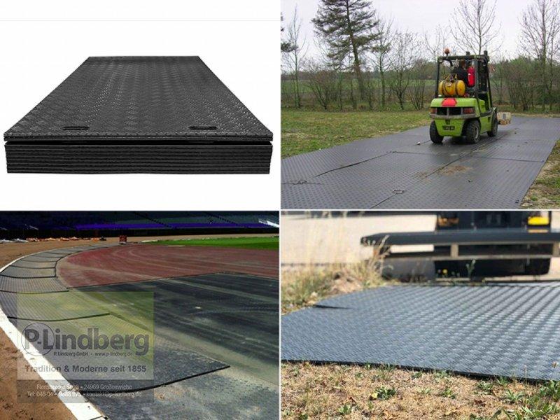 Sonstige Transporttechnik des Typs P.Lindberg GmbH Fahrplatten max. je 80 Tonnen Baggerplatten Überfahrplatten 200x100x2 cm, Neumaschine in Großenwiehe (Bild 1)