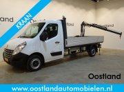Renault Master T35 2.3 dCi 125 PK Open Laadbak / Pick Up / Hiab 013T Kra Sonstige Transporttechnik