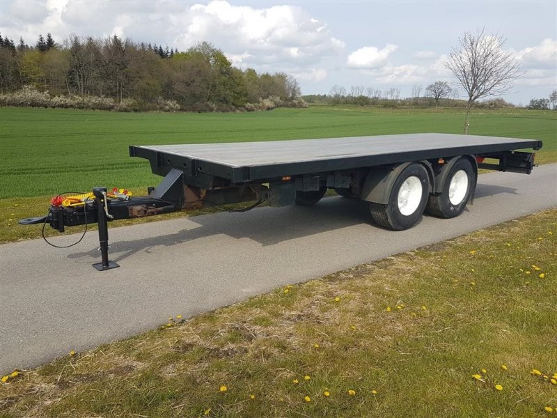 Sonstige Transporttechnik типа Sonstige Halmvogn 7,5 m med luft affjedring og luft bremser, Gebrauchtmaschine в Aabenraa (Фотография 1)