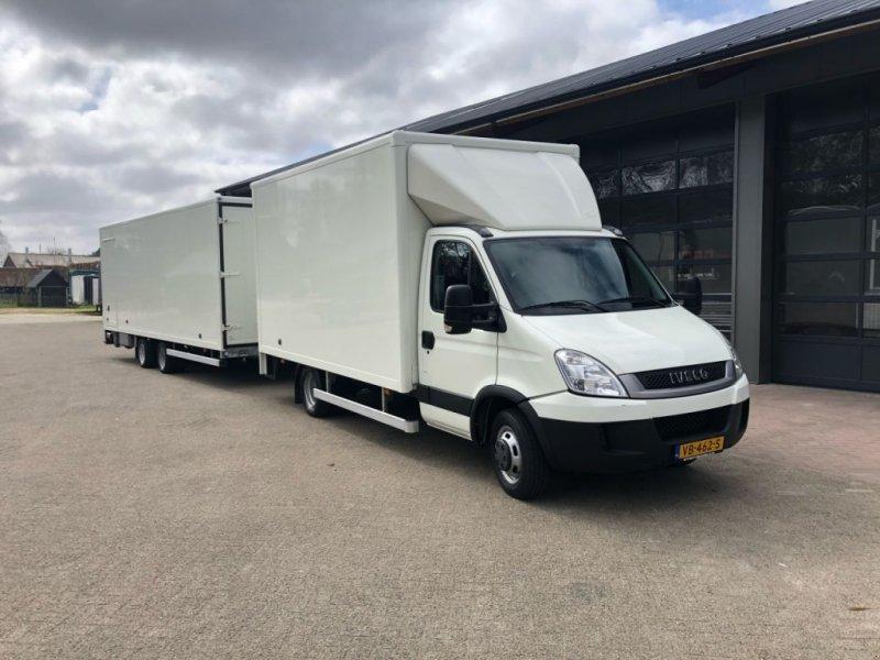 Sonstige Transporttechnik типа Sonstige Iveco 40C18 bakwagen 9.5 ton (28) aanhanger lucht rem euro 5, Gebrauchtmaschine в Putten (Фотография 1)