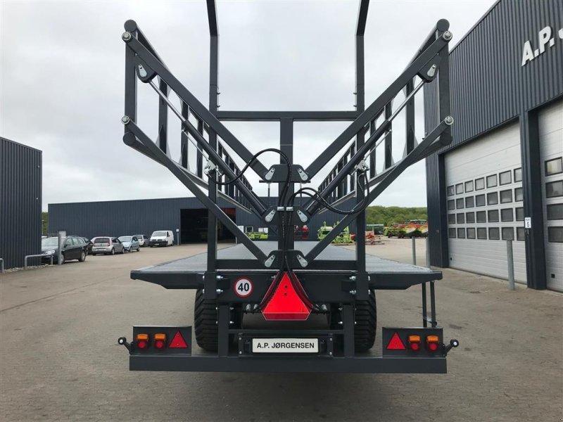 Sonstige Transporttechnik typu Sonstige VM DINA VM halmvogn RPPH 12,5 mtr. med hydr. klapbar sider, Gebrauchtmaschine v Ribe (Obrázok 6)