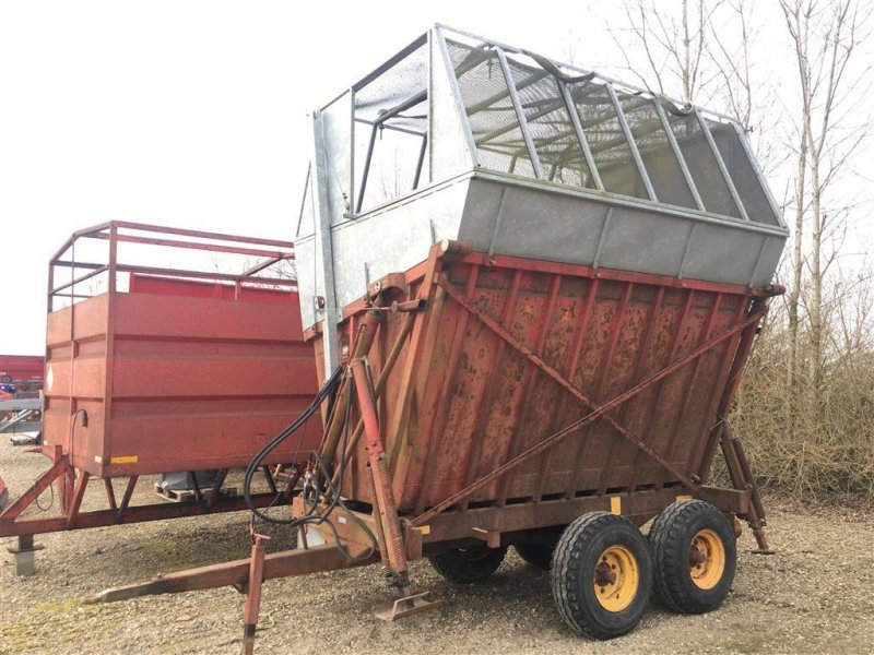 Sonstige Transporttechnik типа Tim Sidehøjtipvogn Speciallavet til flis., Gebrauchtmaschine в Spøttrup (Фотография 1)