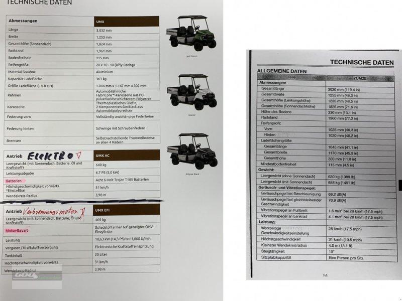 Sonstige Transporttechnik des Typs Yamaha UMX Elektrofahrzeug, Neumaschine in Langenzenn (Bild 26)