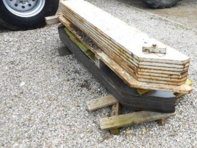 Sonstiges Feldhäckslerzubehör tip CLAAS Heckgewichte für Jaguar 820-900 Typ 491, 492,493, Gebrauchtmaschine in Schutterzell (Poză 1)