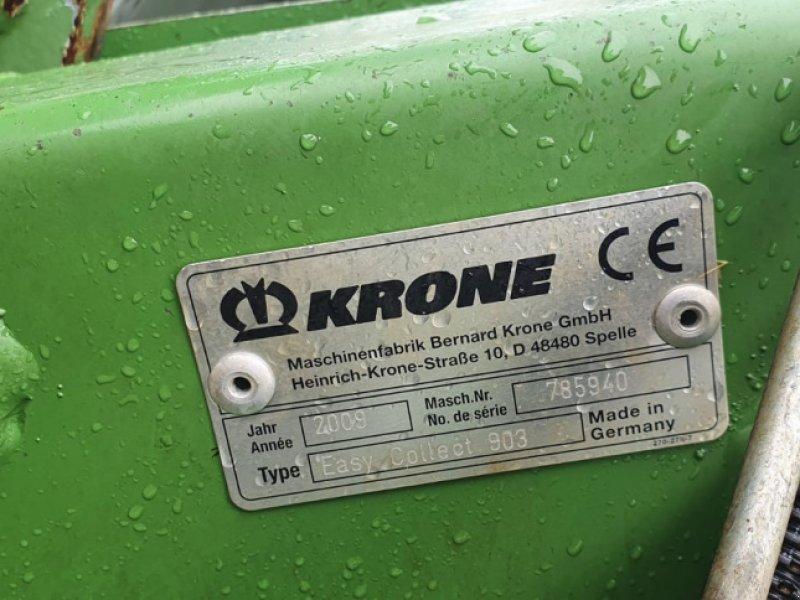 Sonstiges Feldhäckslerzubehör tip Krone Easy Collect 903, Gebrauchtmaschine in Nördlingen (Poză 6)