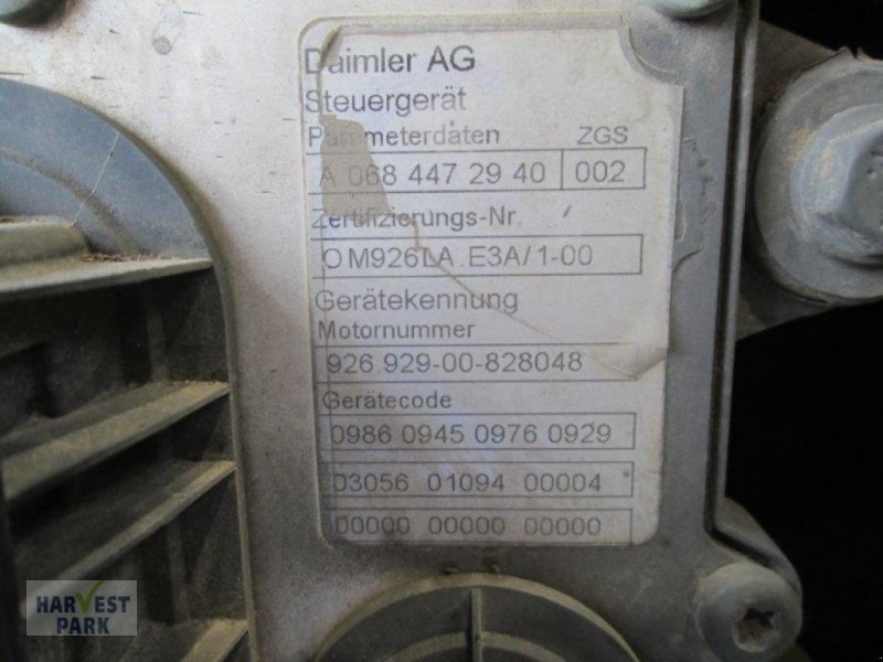 Sonstiges Feldhäckslerzubehör typu Mercedes-Benz OM 926 LA CID 439, Gebrauchtmaschine v Emsbüren (Obrázok 2)
