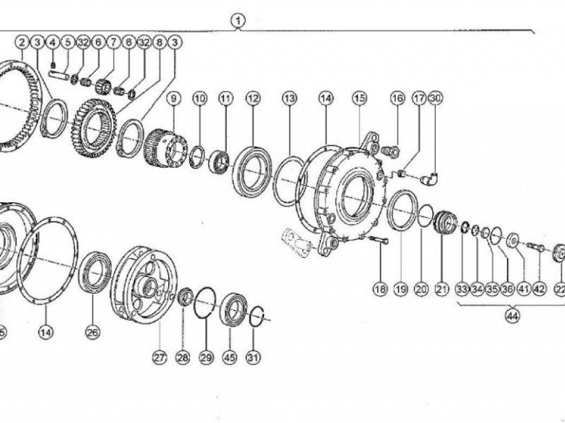 Sonstiges Mähdrescherzubehör typu CLAAS Dreschtrommeldrehzahlreduziergetriebe für Lexion, Gebrauchtmaschine w Schutterzell (Zdjęcie 1)