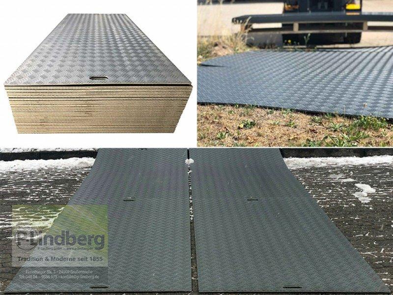 Sonstiges Straßenbau типа P.Lindberg GmbH 10 Stück Fahrplatten je Max. 10 Tonnen Druckplatten LDPE Baustelle Event Wiese, Neumaschine в Großenwiehe (Фотография 1)