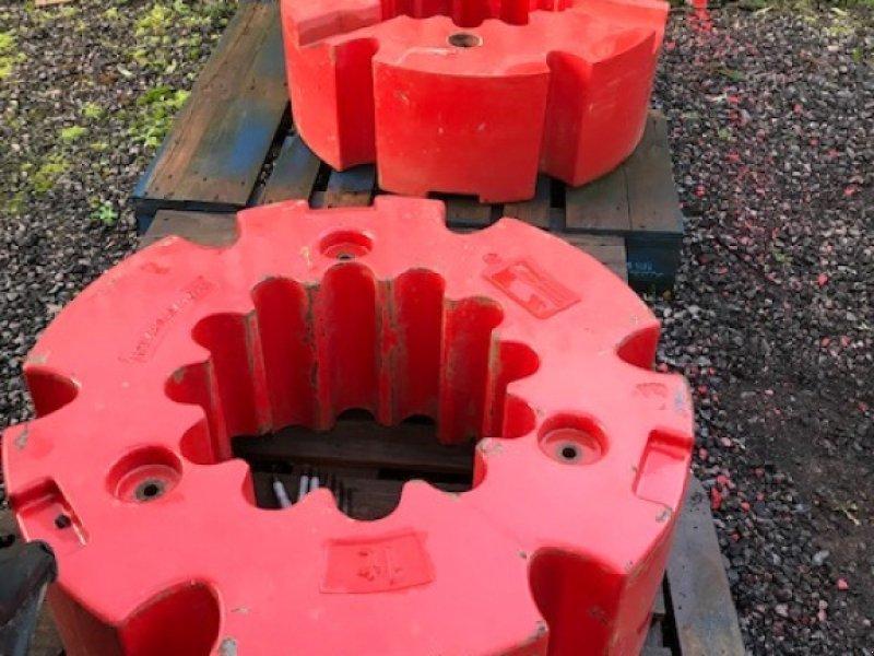 Sonstiges Traktorzubehör типа Fendt 2 x 1000kg Wheel Weights, Neumaschine в Lutterworth (Фотография 1)