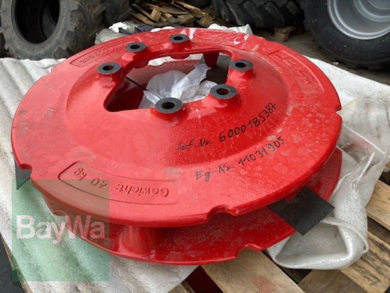 Sonstiges Traktorzubehör des Typs Fendt Anbauplatte für Radgewichte, Gebrauchtmaschine in Fürth (Bild 1)