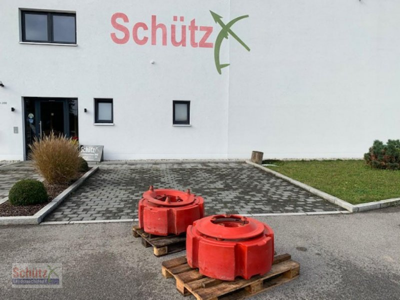 Sonstiges Traktorzubehör a típus Fendt Radgewichte 2080 kg für Fendt Vario 800/900, Gebrauchtmaschine ekkor: Schierling (Kép 1)