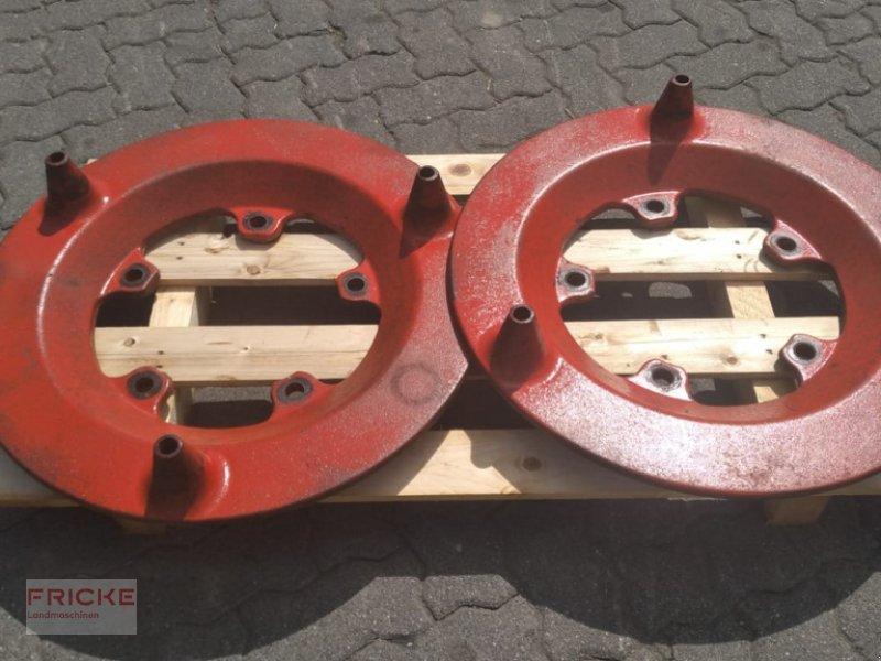 Sonstiges Traktorzubehör des Typs Fendt Tragplatten für Radgewichte, Gebrauchtmaschine in Demmin (Bild 1)