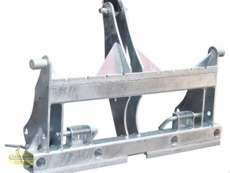 Sonstiges Traktorzubehör des Typs Fliegl Dreipunktadapter universal vollverzinkt Palettengabel 1,5to. Tragkraft, Neumaschine in Rosenthal (Bild 1)