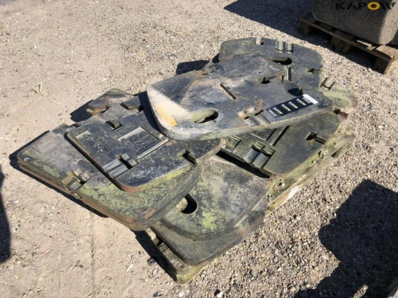 Sonstiges Traktorzubehör типа New Holland Frontvægt til traktor, Gebrauchtmaschine в Østbirk (Фотография 2)
