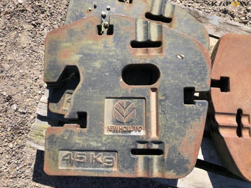 Sonstiges Traktorzubehör типа New Holland Frontvægte til traktor, Gebrauchtmaschine в Østbirk (Фотография 6)