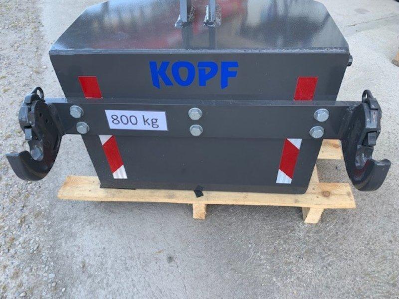 Sonstiges Traktorzubehör des Typs Sonstige 800 kg Frontgewicht für Front und Heckhydraulik, Vorführmaschine in Schutterzell (Bild 1)