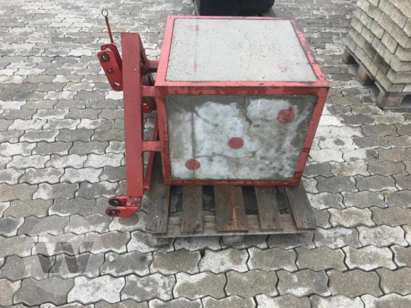 Sonstiges Traktorzubehör des Typs Sonstige Betongewicht, Gebrauchtmaschine in Bützow (Bild 3)