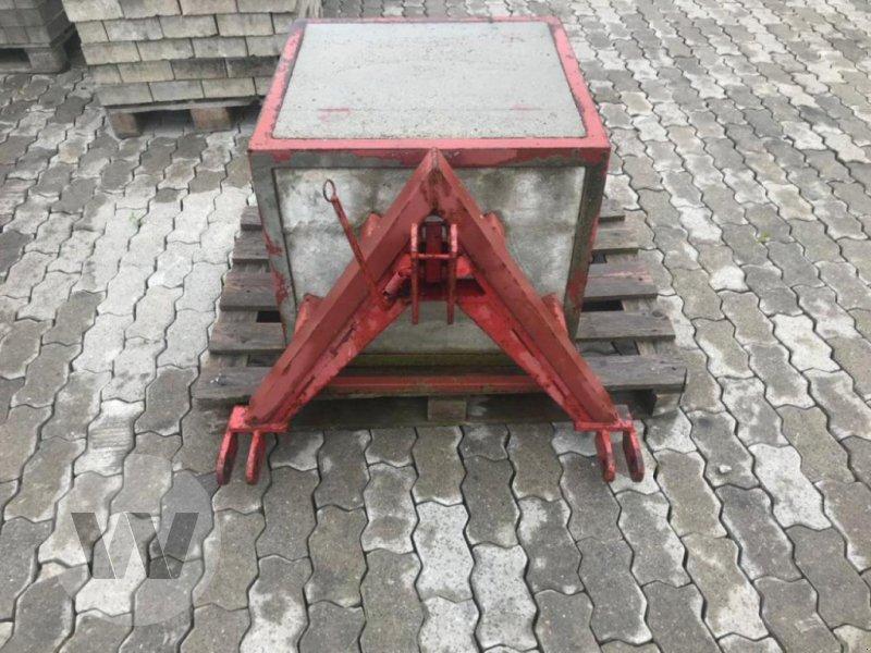 Sonstiges Traktorzubehör des Typs Sonstige Betongewicht, Gebrauchtmaschine in Bützow (Bild 1)